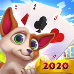 Solitaire Pets Adventure – Free Classic Card Game 2.14.515  MOD (unlimited money)
