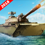 Army Tank Battle War On Water : Armoured Vehicle 2.2 MOD (unlimited money)
