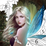 Art Coloring – Coloring Book & Color By Number 2.5.2 MOD (unlimited money)