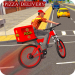 BMX Bicycle Pizza Delivery Boy 2019 1.1.178 MOD (unlimited money)