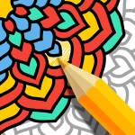 Mandala Coloring Book – Free Adult Coloring Pages 1.14 MOD (unlimited money)