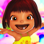 Talking Emily Baby Girl Games 14 MOD (unlimited money)