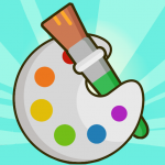 Coloring Book 5.8 MOD (unlimited money)