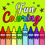 Fun Coloring for kids R.1.9.2 MOD (unlimited money)