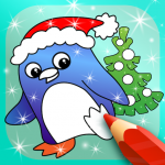 Happy Kids Animated Christmas Coloring Book 2.2 MOD (unlimited money)