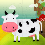 Kids Puzzles: Jigsaw Puzzle Games for Kids 4.1 MOD (unlimited money)