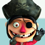 Talking Pirate Sparrow Free for kids 2.0.7.2 MOD (unlimited money)