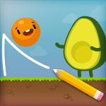 Where's My Avocado? Draw lines 20.0729.09 MOD (unlimited money)