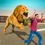 Angry Lion Sim City Attack 1.3 MOD (unlimited money)