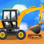 Construction Vehicles & Trucks – Games for Kids 1.9.0 MOD (unlimited money)