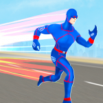 Grand Light Speed Robot Hero City Rescue Mission  (MOD, unlimited money) 2.0