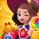 Jewel Witch – Best Funny Three Match Puzzle Game 1.8.2 (MOD, unlimited money)