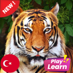 Learn Animals in Turkish: Picture Quiz Play Game 7.02 MOD (unlimited money)