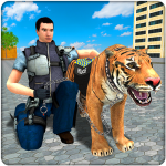 Police Tiger Chase Simulator: City Crime 2.0 MOD (unlimited money)