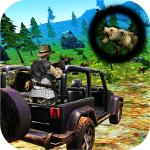 Bear Hunting on Wheels 4×4 – FPS Shooting Game 18 1.6 (MOD, unlimited money)
