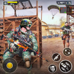 Real Commando Shooter: FPS Shooting Games Free 1.28 (MOD, unlimited money)