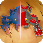 Spore Monsters.io 3D Wasteland Nomads Crab Turmoil 1.6 (MOD, unlimited money)