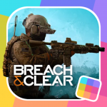 Breach & Clear: Military Tactical Ops Combat  (MOD, unlimited money)2.4.86
