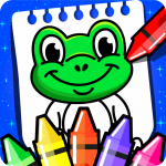Coloring Games : PreSchool Coloring Book for kids 4.0 (MOD, unlimited money)