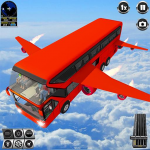 Flying Bus Driving simulator 2019: Free Bus Games 3.1 (MOD, unlimited money)