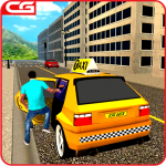 Taxi Driving Games Mountain Taxi Driver 2018 1.6 (MOD, unlimited money)