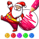 Christmas Coloring Game – Learn Colors 4.3 (MOD, unlimited money)