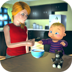 Real Mother Baby Games 3D: Virtual Family Sim 2019 1.0.6 MOD APK