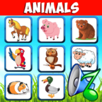 Animal sounds. Learn animals names for kids 6.6 MOD APK