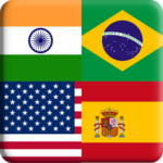 Flags Quiz Gallery : Quiz flags name and color Flag 1.0.190 MOD APK