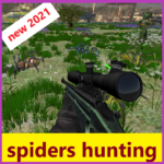 spiders hunting .Hunter & Shooter 3D Hunting Games 121 MOD APK