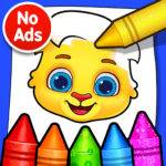 Coloring Games: Coloring Book, Painting, Glow Draw 1.1.5 MOD APK