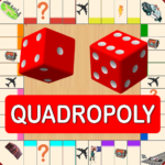 Quadropoly Best AI Board Business Trading Game 1.78.87 MOD APK