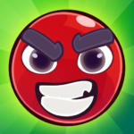Red Bounce Ball: Jumping and Roller Ball Adventure MOD APKV 1.28