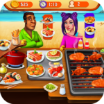 Seafood Cooking Chef: Addictive Free Cooking Games  MOD APK 1.6