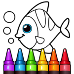 Learning & Coloring Game for Kids & Preschoolers  MOD APK 32.0